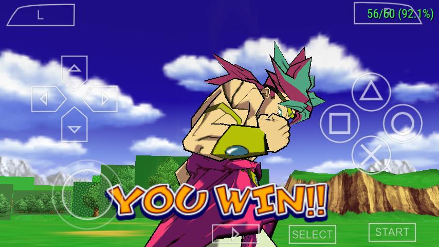 Dragon bal Z psp